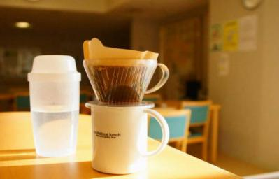 朝のドリップコーヒー