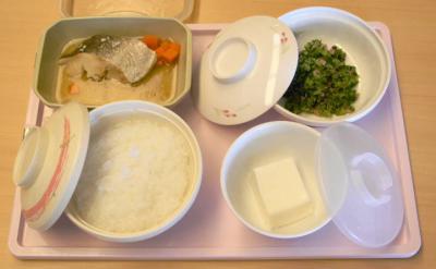 ひ9月21日昼食 易消化食きざみ