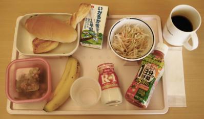 あ9月27日朝食+野菜ジュース&ヨーグルト