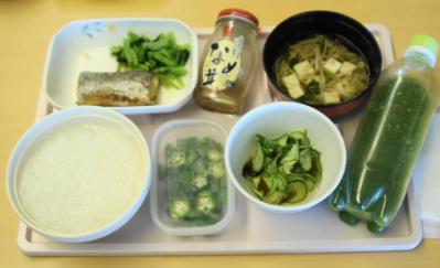 ひ9月28日昼食・清汁、酢の物付き