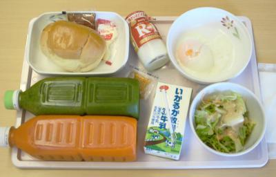 あ9月29日朝食+ジュース&ヨーグルト
