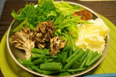 舞茸と野菜