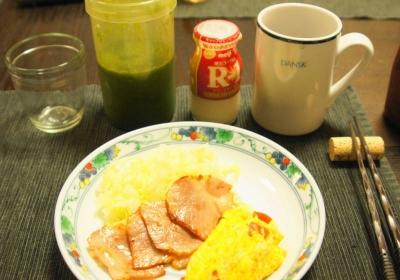 いつもの朝ごはん