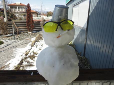ヤンキー雪だるま