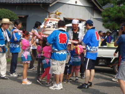 西野町祭り2