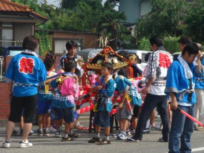西野町祭り1