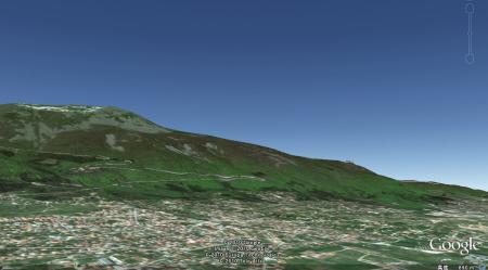 ブルガリアをGoogleEarthで
