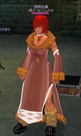 ドレスだったり
