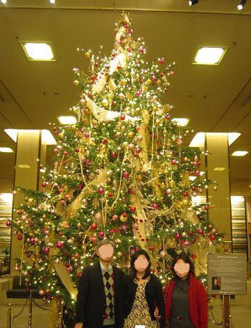 帝国ホテル、クリスマスツリー