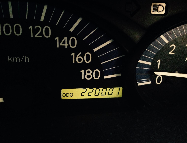 22万キロ