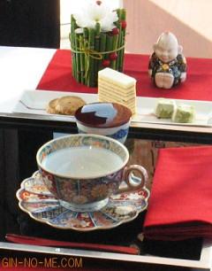 加賀の紅茶 テーブルコーディネート