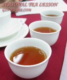 世界三大銘茶を飲み比べ 銀の芽紅茶店
