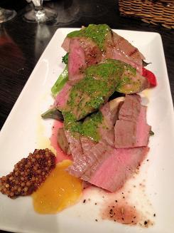 185仔牛と野菜のグリルタスマニアマスタード0 (2)
