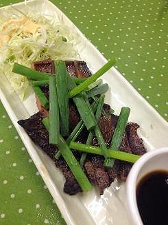 09 (2)牛肉ステーキ