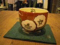 椿 抹茶茶碗2