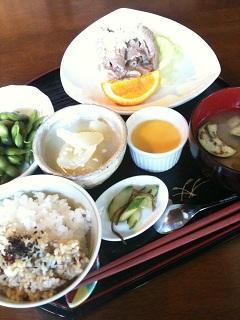やさいの荘の家庭料理 菜ぁ 黒豚の塩こうじ焼き定食