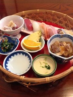 味の散歩道 寿し魚勢 寿司ランチ 1