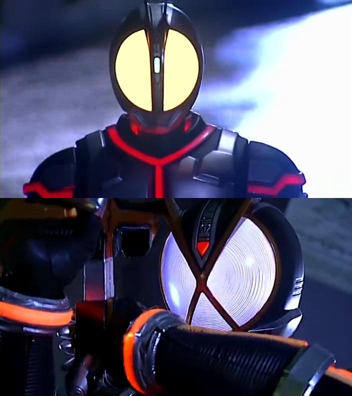 闇の似合うライダー