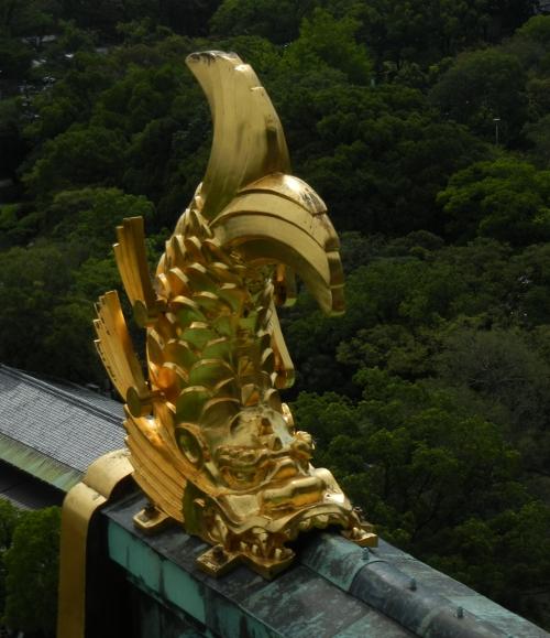 大阪城 シャチホコ