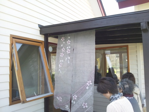 お蕎麦屋さん(2012.04.30)