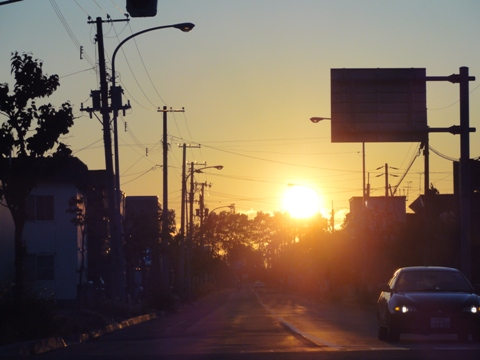 夕陽(2012.06.26)