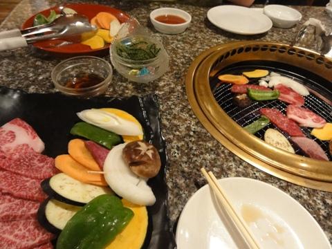 八重山の焼き肉(2012.08.10)