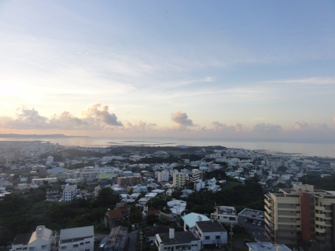 ホテルの窓から(2012.08.12)