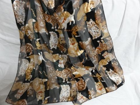 ねこさんスカーフ01(2012.10.15)