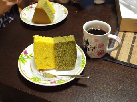 シフォンケーキ♪(2012.11.16)