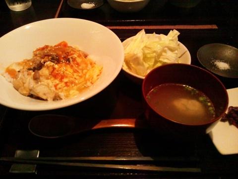 親子丼再び(2012.12.15)