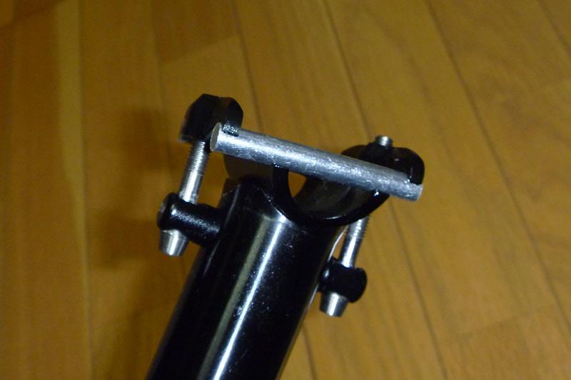 778-Ti-プロライト9000 折り畳み自転車ミニベロ用シートポスト