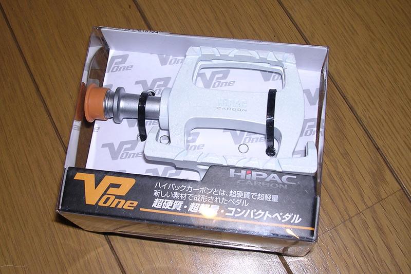 809-VP-ハイパックカーボンペダル-Y-9308-ホワイト