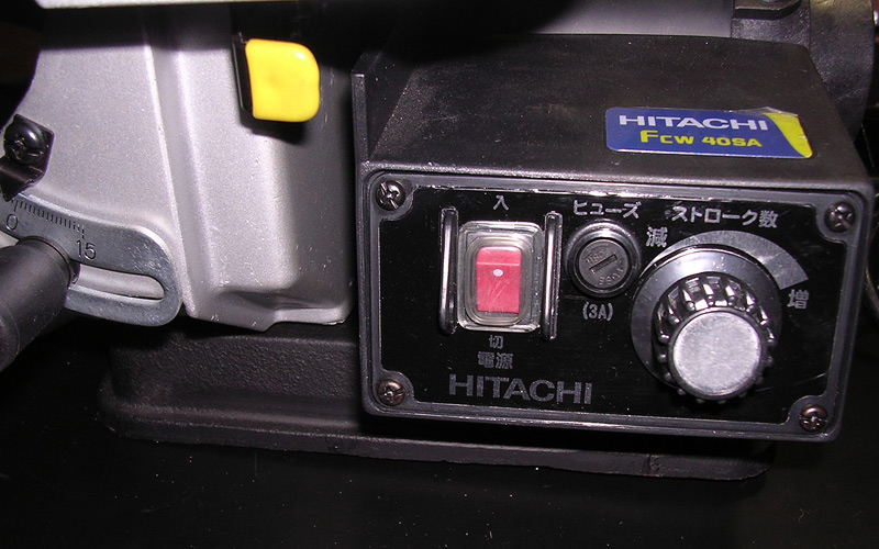 831-日立 卓上糸鋸盤 FCW40SA