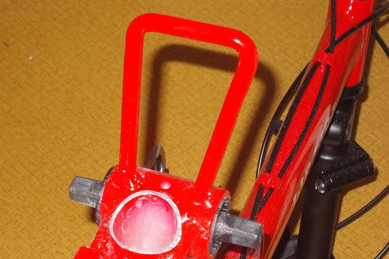 870-折りたたみ自転車-ボディ軽量化