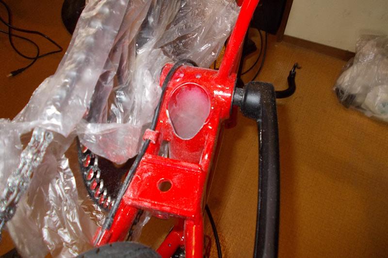 011-折りたたみ自転車-ボディ軽量化