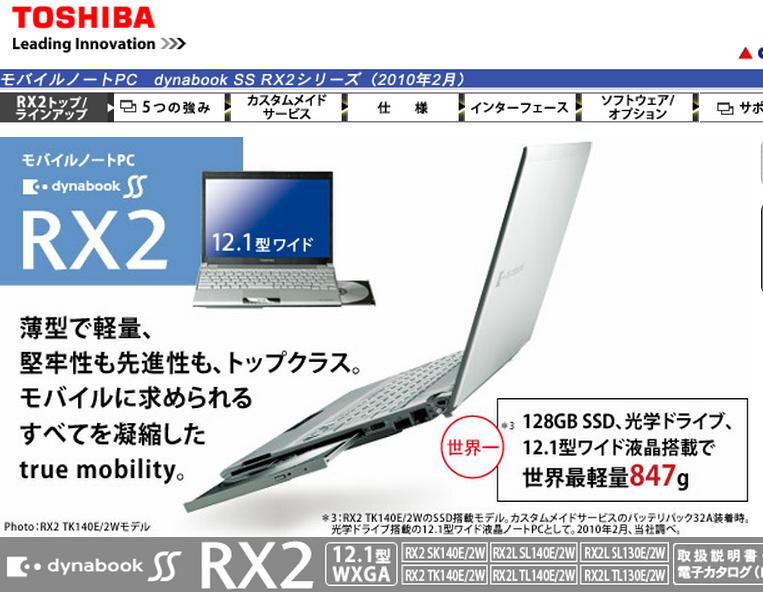 SS RX2 2
