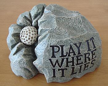 岩型 キーホルダー入れ