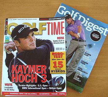 ドイツ&アメリカのゴルフ雑誌!