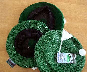 グリーン型 パーティベレー帽