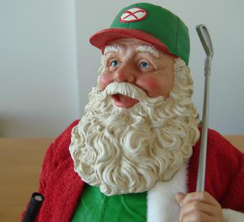 ゴルファーサンタさん、今年も来日!