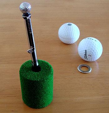 ゴルフ ボールペン