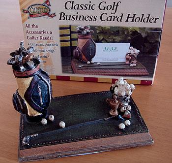 クラシック・ゴルフ!カードホルダー