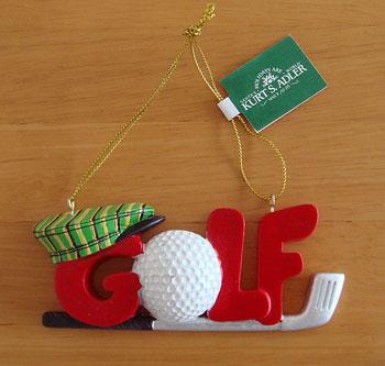 GOLF クリスマスオーナメント