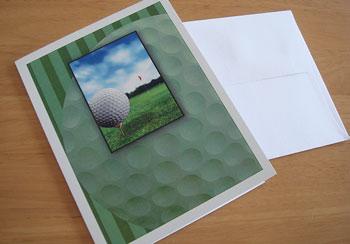 素敵なセンスのゴルフ・カード