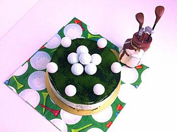 ゴルフ!お誕生日ケーキ