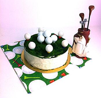 ゴルフボール!お誕生日ケーキ
