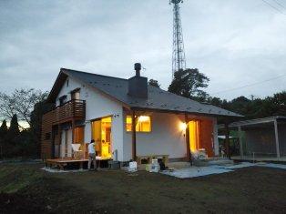 夕方のマイホーム