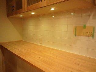 食器棚ライト