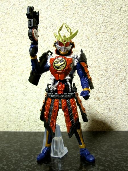 仮面ライダー鎧武 カチドキアームズ(銃モード装備)