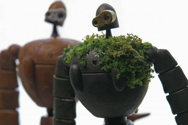 園丁ロボ装飾